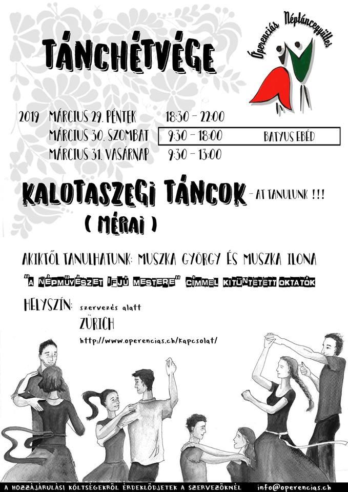 Óperenciás Tánchétvége – Kalotaszegi táncok (Méra)