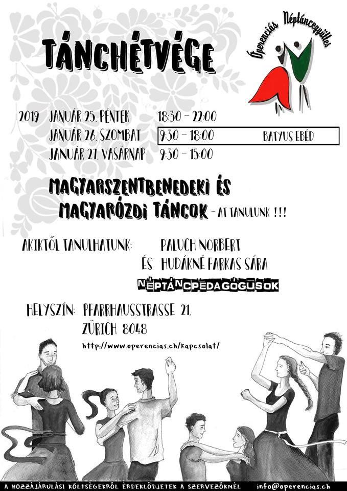 Óperenciás Tánchétvége – Magyarszentbenedeki táncok